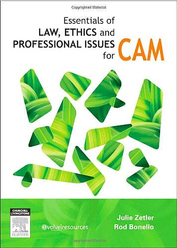 Portada del libro 9780729539708 Essentials of Law, Ethics, and Professional Issues in Cam