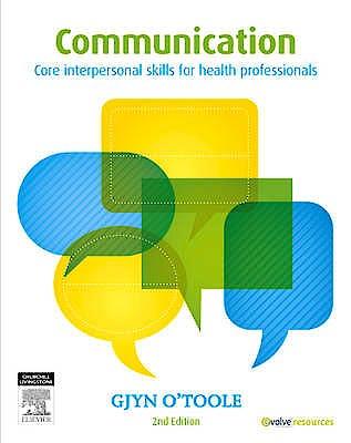 Portada del libro 9780729541008 Communication. Core Interpersonal Skills for Health Professionals