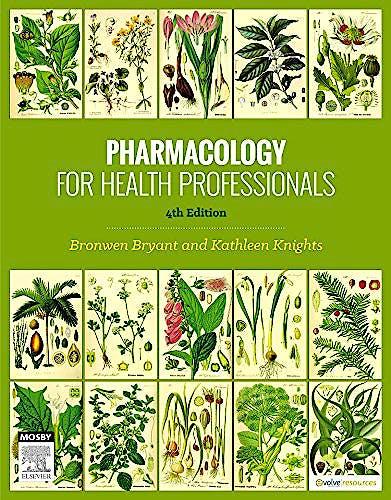Portada del libro 9780729541701 Pharmacology for Health Professionals
