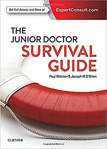 Portada del libro 9780729542258 The Junior Doctor Survival Guide