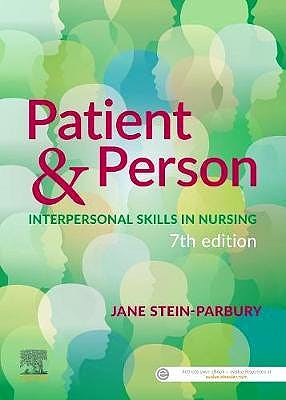 Portada del libro 9780729543545 Patient & Person. Interpersonal Skills in Nursing