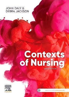 Portada del libro 9780729543569 Contexts of Nursing. An Introduction