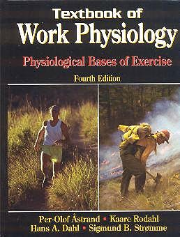 Portada del libro 9780736001403 Textbook of Work Physiology