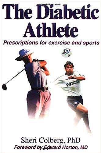 Portada del libro 9780736032711 The Diabetic Athlete