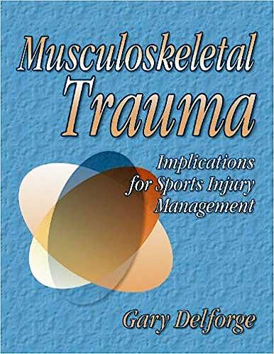 Portada del libro 9780736038799 Musculoskeletal Trauma - Implications for Sport Injury Management