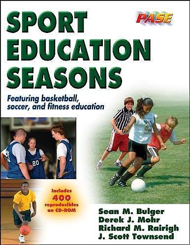 Portada del libro 9780736046398 Sport Education Seasons + CD-ROM
