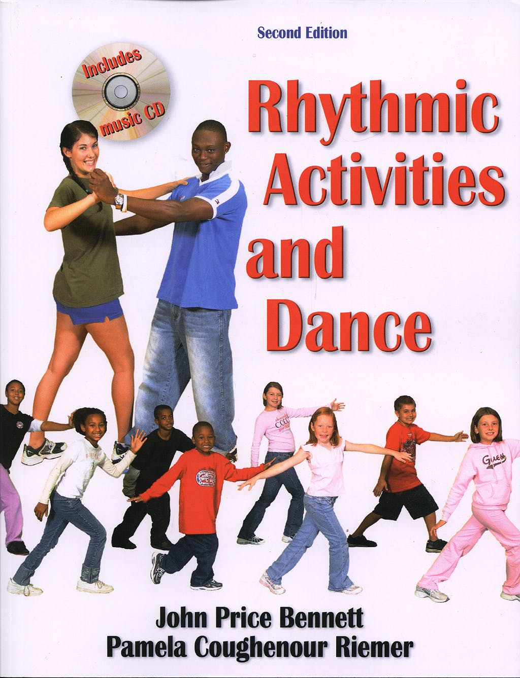 Portada del libro 9780736051484 Rhythmic Activities and Dance