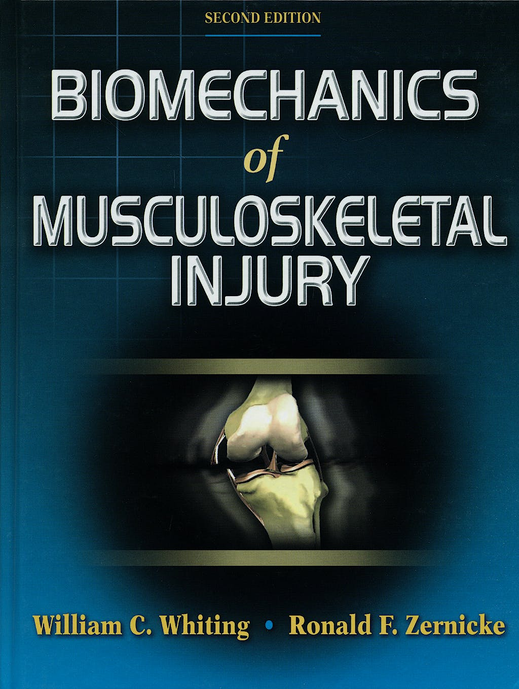Portada del libro 9780736054423 Biomechanics of Musculoskeletal Injury