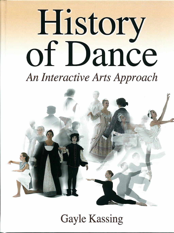 Portada del libro 9780736060356 History of Dance