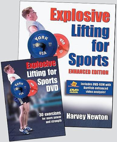 Portada del libro 9780736067065 Explosive Lifting for Sports Book/dvd Package-the Enhanced Edition