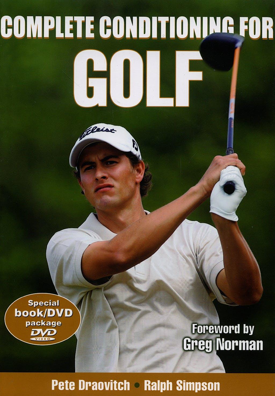 Portada del libro 9780736067799 Complete Conditioning for Golf + Dvd