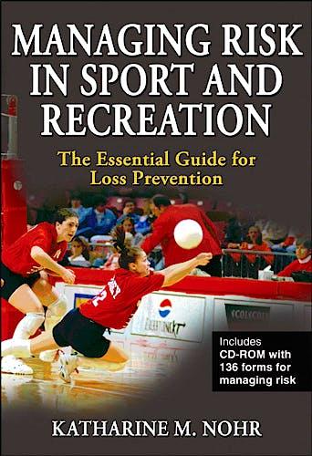 Portada del libro 9780736069335 Managing Risk in Sport and Recreation