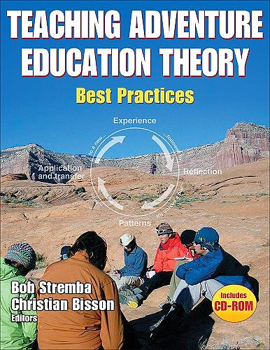 Portada del libro 9780736071260 Teaching Adventure Education Theory. Best Practices