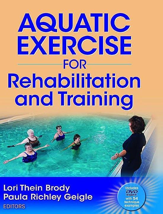 Portada del libro 9780736071307 Aquatic Exercise for Rehabilitation and Training + Dvd