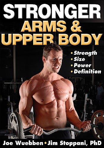 Portada del libro 9780736074018 Stronger Arms and Upper Body