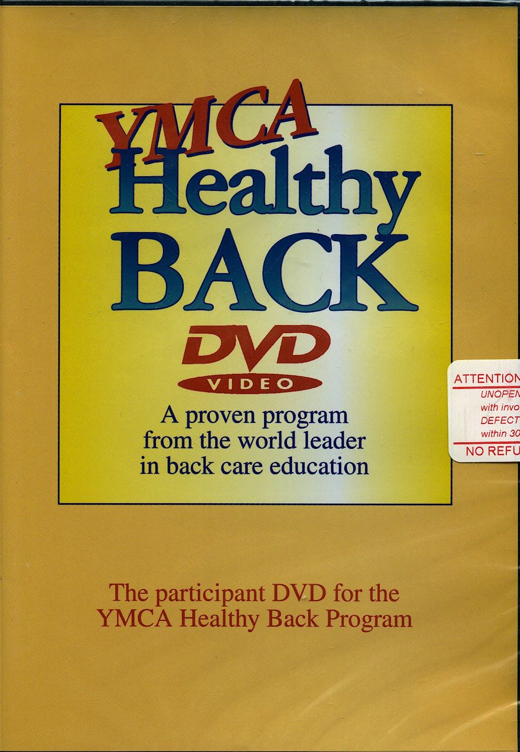 Portada del libro 9780736074490 Ymca Healthy Back Dvd