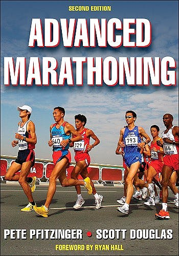 Portada del libro 9780736074605 Advanced Marathoning