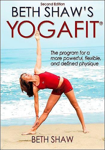 Portada del libro 9780736075367 Beth Shaw's Yogafit