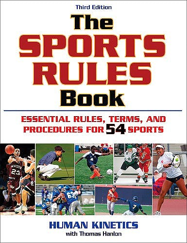 Portada del libro 9780736076326 The Sports Rules Book. Essential Rules, Terms, and Procedures for 54 Sports