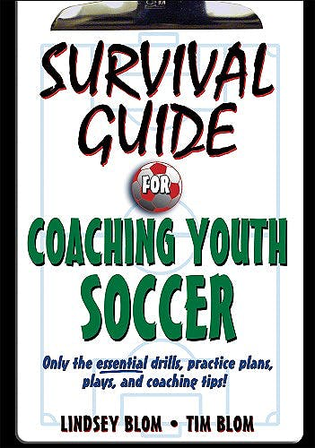 Portada del libro 9780736077323 Survival Guide for Coaching Youth Soccer