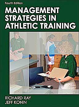 Portada del libro 9780736077385 Management Strategies in Athletic Training