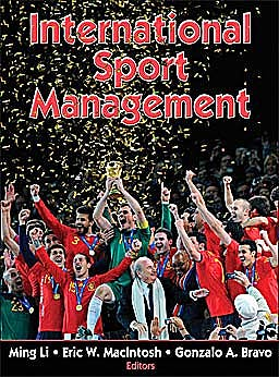 Portada del libro 9780736082730 International Sport Management