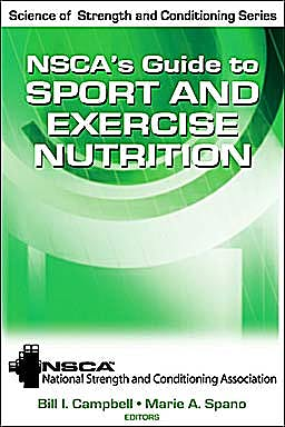 Portada del libro 9780736083492 NSCA's Guide to Sport and Exercise Nutrition