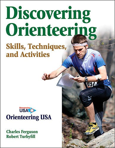 Portada del libro 9780736084239 Discovering Orienteering. Skills, Techniques, and Activities
