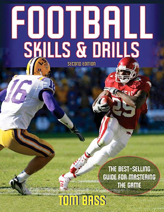 Portada del libro 9780736090766 Football. Skills and Drills