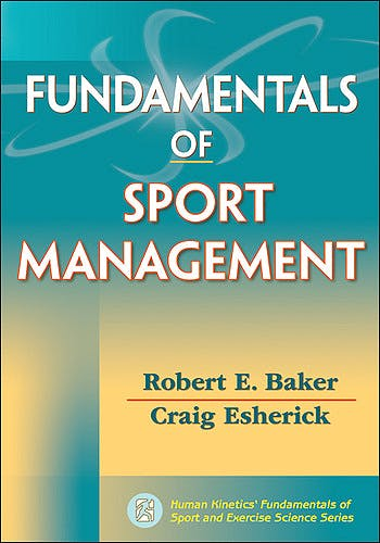 Portada del libro 9780736091084 Fundamentals of Sport Management