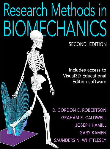 Portada del libro 9780736093408 Research Methods in Biomechanics + Access to Visual 3D Educational Software