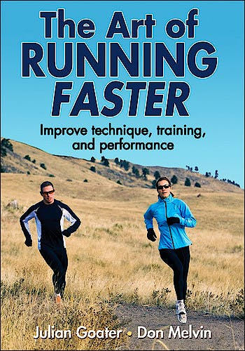 Portada del libro 9780736095501 The Art of Running Faster