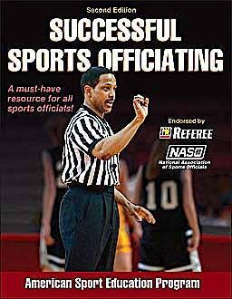 Portada del libro 9780736098298 Successful Sports Officiating
