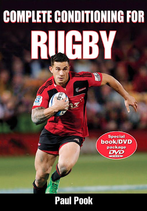 Portada del libro 9780736098304 Complete Conditioning for Rugby + DVD