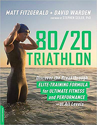 Portada del libro 9780738234687 80/20 Triathlon. Discover the Breakthrough Elite-Training Formula for Ultimate Fitness and Performance at All Levels