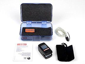 Pulsioximetro de Dedo Gima Oxy-6 con Alarmas