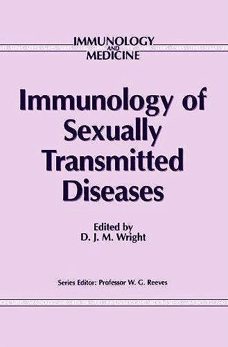 Portada del libro 9780746200872 Immunology of Sexually Transmitted Diseases