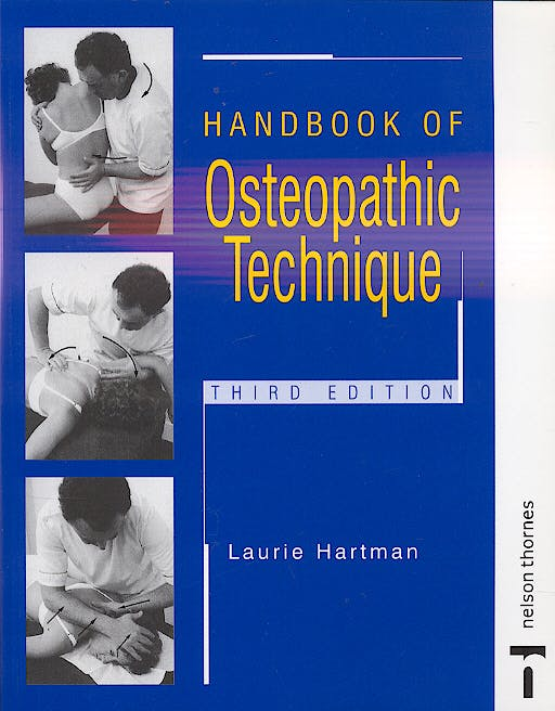 Portada del libro 9780748737222 Handbook of Osteopathic Technique