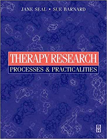 Portada del libro 9780750634359 Therapy Research. Processes and Practicalities