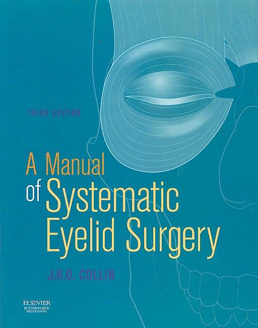 Portada del libro 9780750645508 A Manual of Systematic Eyelid Surgery