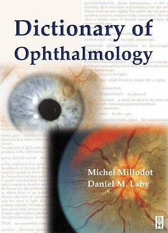 Portada del libro 9780750647977 Dictionary of Ophthalmology