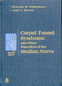 Portada del libro 9780750673143 Carpal Tunnel Syndrome and Other Disorders of the Median Nerve