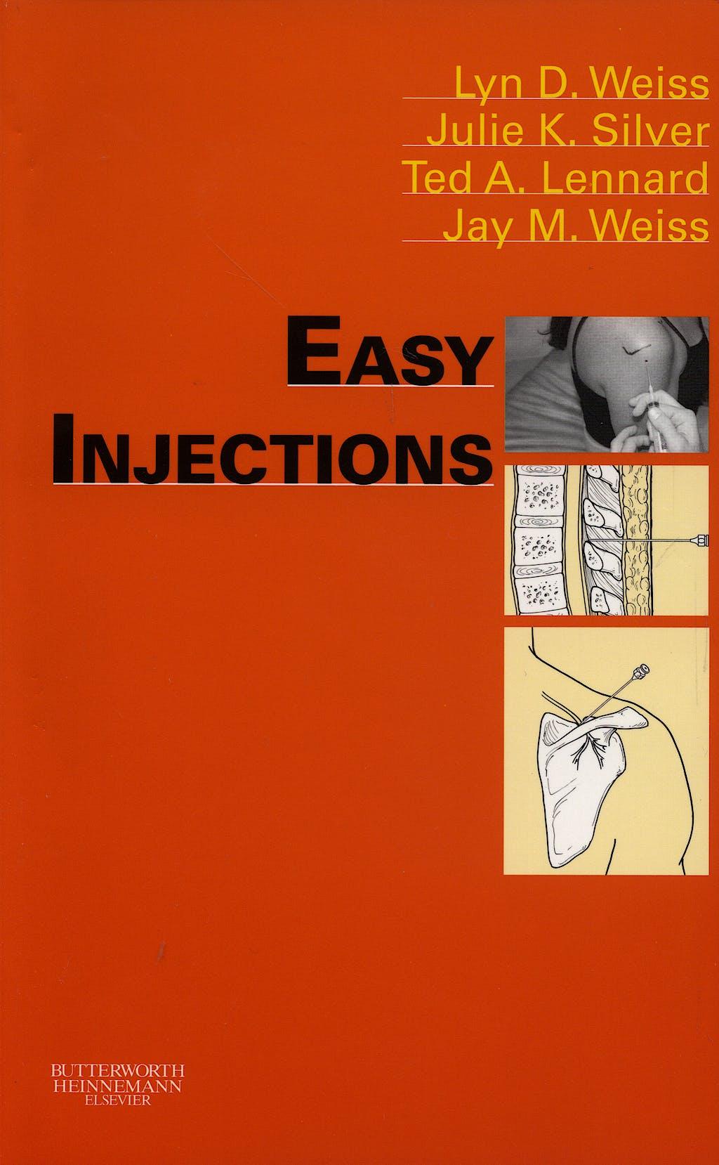 Portada del libro 9780750675277 Easy Injections