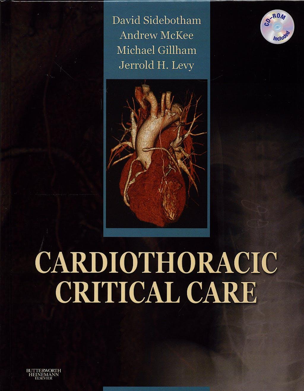 Portada del libro 9780750675727 Cardiothoracic Critical Care