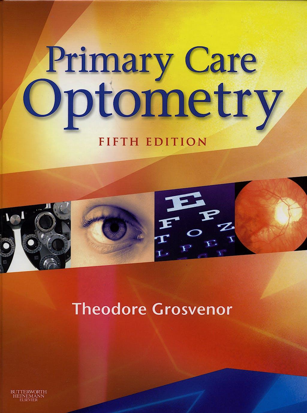 Portada del libro 9780750675758 Primary Care Optometry