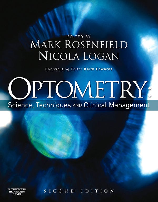 Portada del libro 9780750687782 Optometry. Science, Techniques and Clinical Management