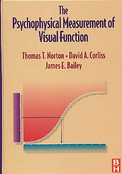 Portada del libro 9780750699358 The Psychophysical Measurement of Visual Function