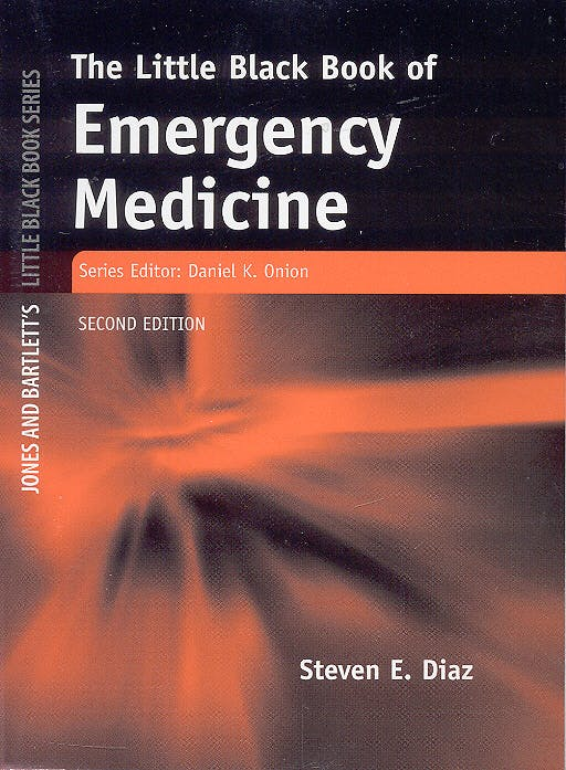 Portada del libro 9780763734565 The Little Black Book of Emergency Medicine