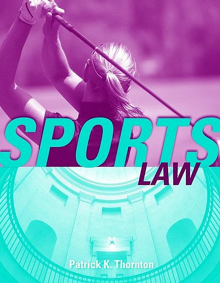 Portada del libro 9780763736507 Sports Law