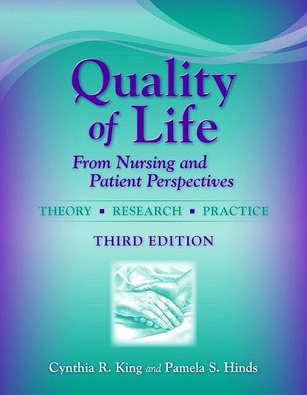 Portada del libro 9780763749439 Quality of Life: From Nursing and Patient Perspectives